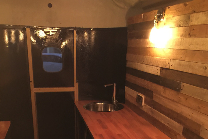 Horsebox conversion for mobile catering
